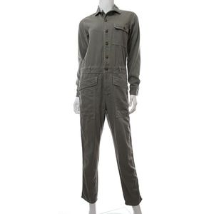 7286fd13463b Current Elliott Pants - Current Elliott The Rosie Green Jumpsuit Coverall